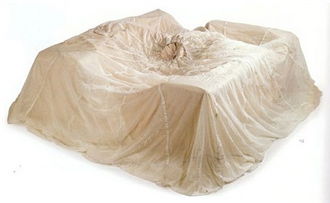 untitled (couch) by john chamberlain