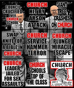 church by gilbert & george