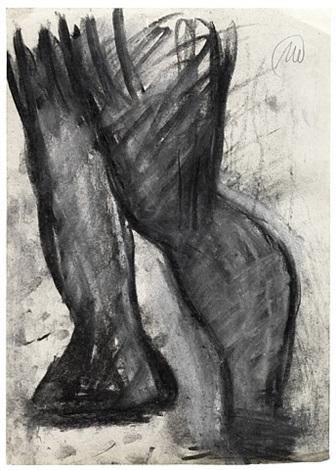 untitled (hercules) by markus lüpertz