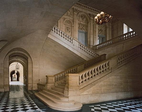 escalier des princes, versailles by robert polidori
