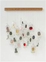 untitled (23 bottles) by barry mcghee