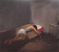 sleeping lady by jaber alwan