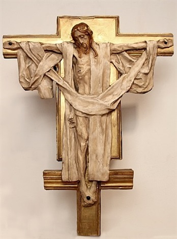 crucifix by john singer sargent
