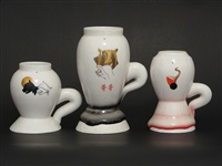 set of three cups by ron nagle
