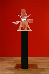 memory of sophie calle's flower by frank gehry