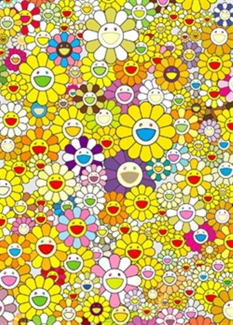 an homage to monogold 1960 by takashi murakami