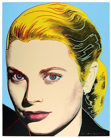 grace kelly (f. & s. ii.305) by andy warhol