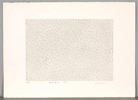 infinity nets (b) (abe shuppan 204) by yayoi kusama
