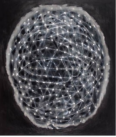 the brain is overworked by ross bleckner