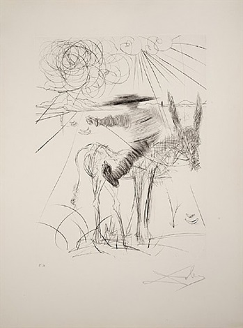 sancho pança by salvador dalí