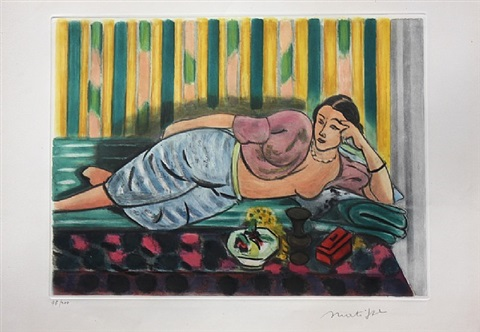 odalisque au coffret rouge by henri matisse