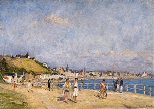 le touquet, normandy by georges jules ernest binet