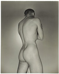ted starkowski (rear) by george platt lynes