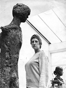 elisabeth frink, beaux arts represents the artist's estate
