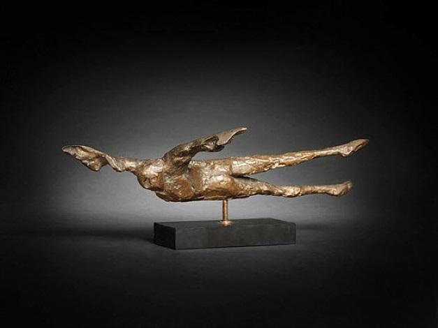 horizontal birdman i by elisabeth frink