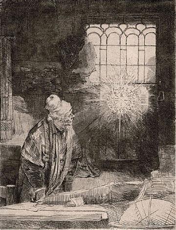 faust by rembrandt van rijn