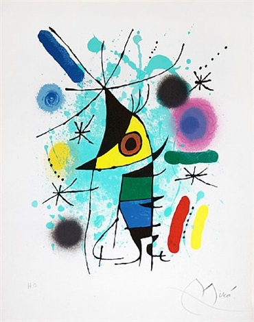miró lithographs i by joan miró