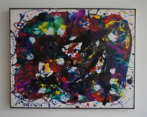 untitled, (sfp-85-71) by sam francis