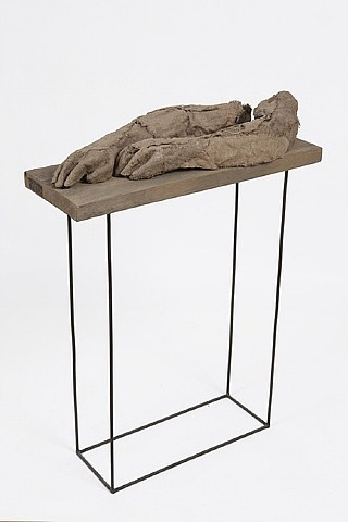 from the anatomy cycle: anatomy 21 by magdalena abakanowicz