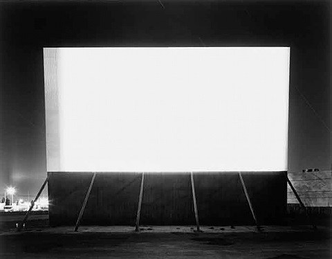 winnetka drive-in, paramount by hiroshi sugimoto