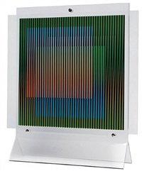 chromointerference manipulable 2 by carlos cruz-diez