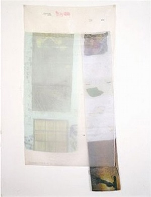 sand (from hoarfrost editions) by robert rauschenberg