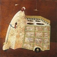 il gelataio della piazza by angelo palazzini