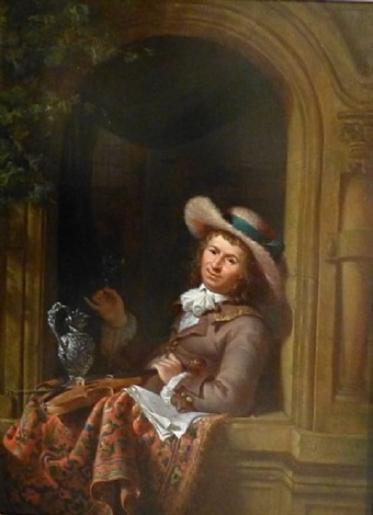 the wine taster by abraham van stry the elder