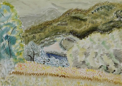 rolling hills by milton avery