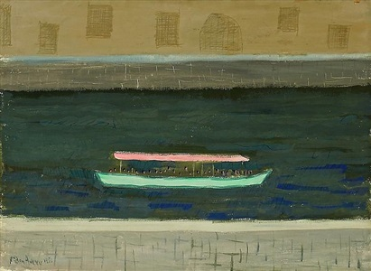 excursion on the thames by milton avery