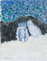 pigeons in the park by milton avery