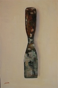 the old putty knife (sold) by john smith