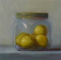 lemons in a jar (sold) by susan nally
