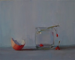 red berries (sold) by susan nally