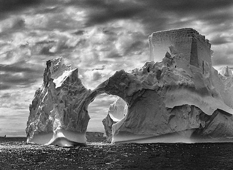 iceberg between the paulet island and the shetland island, antarctica by sebastião salgado