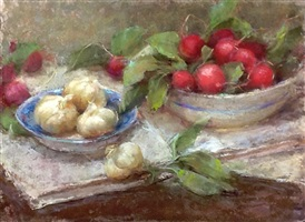 french radishes by stephanie birdsall