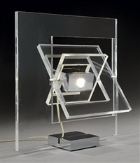 lampe satellite by yonel lebovici