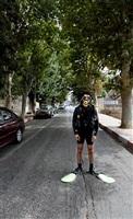 diver in ramallah by khaled jarrar