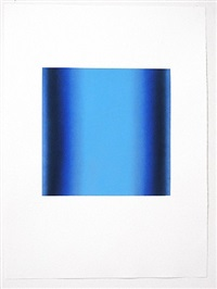 cool-light cerulean-prussian by ruth pastine