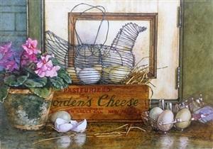 chicken & eggs by deborah l. chabrian