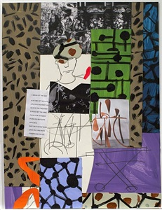 a century of collage by bruce mclean
