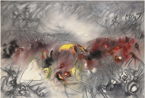 morningness by roberto matta