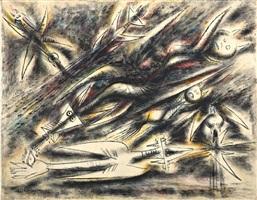 composizione (sold) by wifredo lam