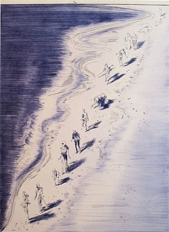 tide figures by wayne thiebaud