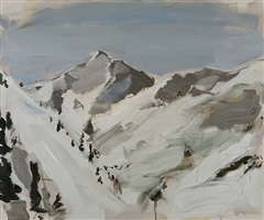 untitled (snow mountains) by gideon rubin
