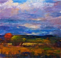 earthscape no. 4, (inness) by gregory frank harris