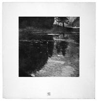 <u>still pond</u> from das werk by gustav klimt