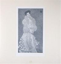 <u>portrait of hermine moritz gallia</u> from das werk by gustav klimt