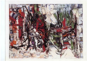 jeux by jean paul riopelle