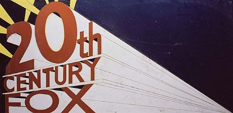 20th century fox after ed ruscha by vik muniz